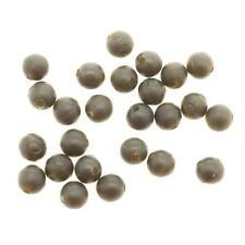 2 X paquets de Dragon carpe CAOUTCHOUC perles 6mm boueux brun à transparent ( Yf