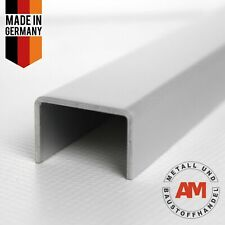 Aluminium U-Profil eloxiert E6/EV1