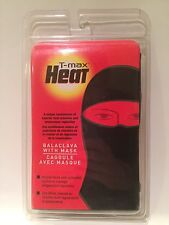 T-Max Heat Balaclava With Mask Black One Size Fits All
