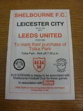 23/01/1990 Shelbourne v Leicester City & 25/01/1990 Leeds United [Purchase Of To