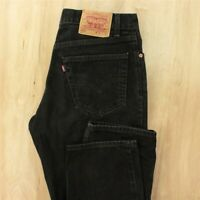 vtg usa made red tab LEVI'S 550 fit jeans 34 x 30 (34 x 32 tag) black 80's 90's