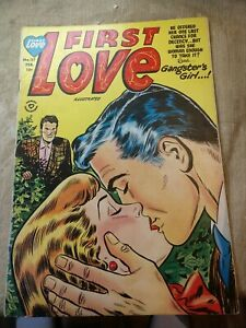First Love Illustrated #37 Pre-Code Harvey Comic 1953 VG- Rare!