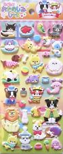 Mind Wave Puffy Animals Sticker Sheet ~ KAWAII!!