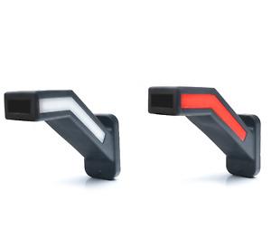 1 Set NEON LED Positionslichter 12/24V Begrenzungsleuchten E-Prüfzeichen LKW