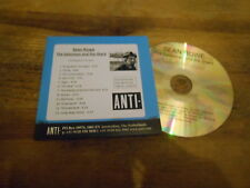 CD Indie Sean Rowe - Salesman And The Shark (12 Song) Promo ANTI- REC cb