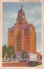 Postcard The Mayo Clinic Rochester Mn 1943