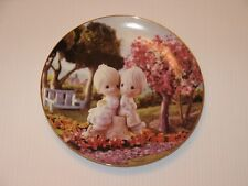 "The Hamilton Collection Precious Moments Plate #1553K ""Love One Another"" Butcher"