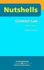 Very Good, Contract Law (Nutshells): 1, Robert Duxbury, Book