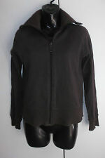 """BOSSINI"" LADIES BROWN ZIP JACKET ** SIZE 9"