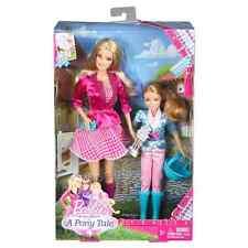 Barbie Sisters '' in a Pony Tale'' 2 Pack Barbie & Stacie Dolls Gift set -NIB