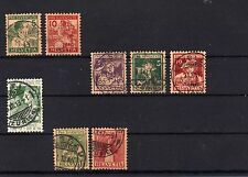 Lot Schweiz -Pro Juventute aus  1913 - 1917  o   ( 12531-o1 )