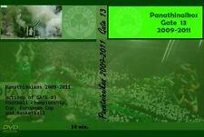 DVD GATE 13 PAO 2009-2011 -PAO,PANATHINAIKOS,HAMMARBY,R.WIEN,ULTRAS ATHENS-