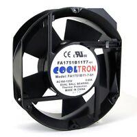 115V AC Cooling Fan. 172mm x 150mm x 51mm Medium Speed (MS1751A)