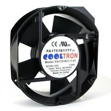 115V AC Cooling Fan. 172mm x 150mm x 51mm Medium Speed (MS1751A)