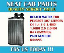 PEUGEOT 307 CITROEN C4 1.4 1.6 1.4 HDI 1.6 HDI 2.0 2.0 HDI Heater Matrix 6448n5