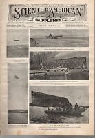 1908 Scientific American Supp March 21-Cygnet Kite; Suns and Nebulae;New Wheat