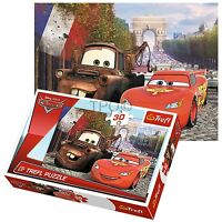 Trefl 30 Piece Kids Boys Disney Pixar Cars Lightning McQueen Jigsaw Puzzle NEW