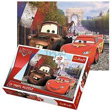 Trefl 30 pezzi bambini ragazzi Disney Pixar MACCHINE Saetta McQueen Puzzle NUOVO