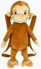 Curious George Moneky Bag Plush Backpack Toy Gift 50cm