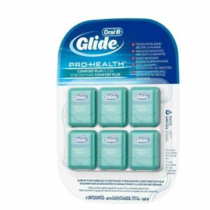 Oral-B Glide Pro-Health Comfort Plus Floss Pack of 6 X 40M