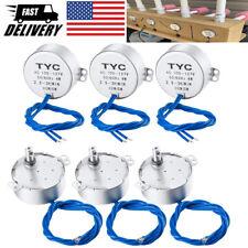3pcs6pcs Electric Synchron Motor Turntable Synchronous Motor 5060hz Ac100127v