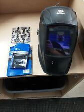 Miller Black Digital Elite Auto Darkening Welding Helmet Withextra Glass