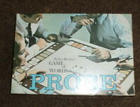 Vintage Parker Brothers Game of Words Probe 1964