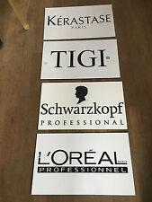 Enseigne publicitaire L'oréal / kerastase / Tigi / schwarzkopf / plastique
