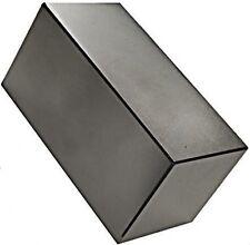 "4"" x 2"" x 2"" Block - Neodymium Rare Earth Magnet, Grade N48"