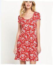 Jersey Floral Skater Dresses
