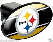 "NFL Pittsburgh Steelers Trailer Hitch Cover Towing 2"" Receiver New Free Shipping"