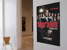 The Sopranos Family Redefined Tv Show 5x3 Banner Tapestry Poster Banner Man Cave