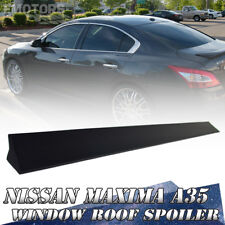 A35 Sedan For Nissan Maxima V Type PUF Window Roof Lip Spoiler Paint Color 09-15