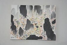 Excellent Chinese Scroll Painting By Wu Guanzhong  P10-11 吴冠中