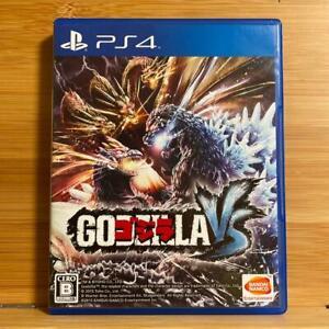 PS4 GODZILLA VS BANDAI NAMCO Sony PlayStation 4 Japan Import Game