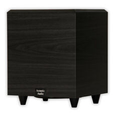 """Acoustic Audio RWSUB-6 Home Theater Powered 6.5"""" Subwoofer 250 Watts Surround"""