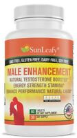 Male Sex Enhancer Testosterone, Stamina & Sexual Boost Longer Erection - US Made