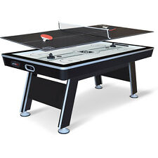 "NHL 80"" Air Powered Hockey with Table Tennis Top"