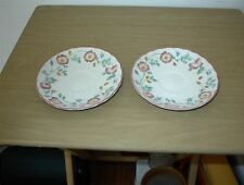 "2 Churchill Briar Rose 5 1/2"" Saucers, NEW OLD STOCK"