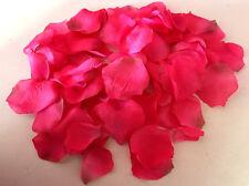 100 x Rosenblätter pink Streudeko -Tischdeko