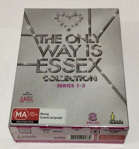 The Only Way Is Essex Series Collection 1-3 DVD 8 Disc Box Set One Two Three