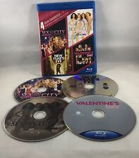 4 Film Favorites Romantic Comedy (Blu-ray, Sex and the City Valentine New Years)
