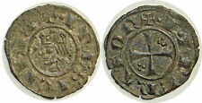 Italie Sicile Frédéric II Denier 1225 Messine