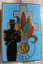 IN15663 - INSIGNE 13° D.B.L.E, CAMERONE 1995, les Sous Officiers, matriculé