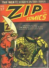 Zip Comics #27-WW2-Japanese-Spider-Web-Coverless-10c