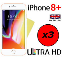 3x ULTRA HD CLEAR SCREEN PROTECTOR COVER GUARD FILM FOR APPLE IPHONE 8 PLUS 8+