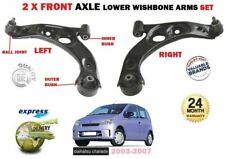 FOR DAIHATSU CHARADE 1.0 2003-2007 LEFT RIGHT 2x FRONT WISHBONE SUSPENSION ARM