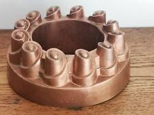 Ancien moule à gâteau en cuivre