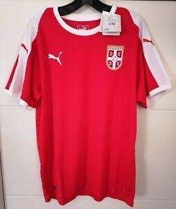 SERBIA Football shirt Jersey Trikot NEW with tags PUMA L SIZE