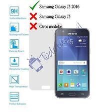 Cristal templado protector de pantalla vidrio 9h para Samsung Galaxy J5 2016